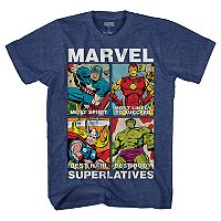 Boys 8-20 Marvel Comics Avengers Tee