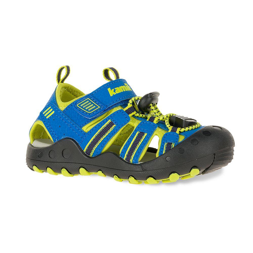Kamik Crab Toddler Boys' Waterproof Sport Sandals
