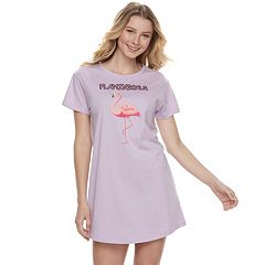 Juniors' Peace, Love & Fashion Graphic Sleepshirt