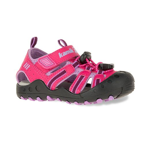 Kamik Crab Toddler Girls' Waterproof Sport Sandals