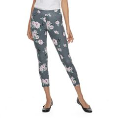 Women's Utopia by HUE Delicate Rose Leggings