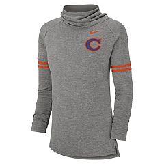 Women's Nike Clemson Tigers Funnel-Neck Top