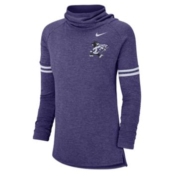 Women's Nike Kansas State Wildcats Funnel Neck Tee