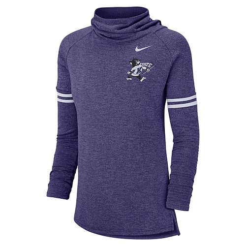 Women's Nike Kansas State Wildcats Funnel Neck Tee