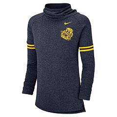 Women's Nike Michigan Wolverines Funnel Neck Tee
