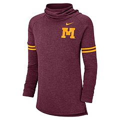 Women's Nike Minnesota Golden Gophers Funnel Neck Tee