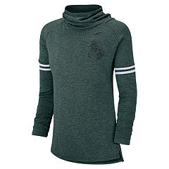 Women's Nike Michigan State Spartans Funnel Neck Tee