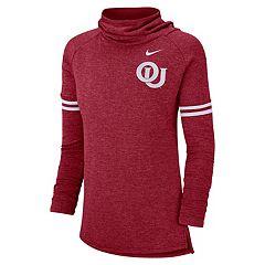 Women's Nike Oklahoma Sooners Funnel Neck Tee
