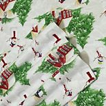 Printed Flannel Extra Deep Pocket Sheet Set