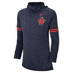 Women's Nike Syracuse Orange Funnel Neck Tee