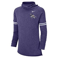 Women's Nike TCU Horned Frogs Funnel Neck Tee