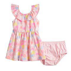 Baby Girl Jumping Beans® Ruffled Skater Dress