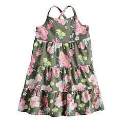 Baby Girl Jumping Beans® Floral Tiered Dress