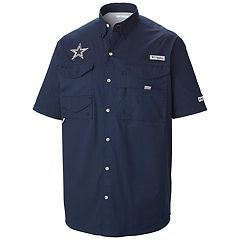 Men's Columbia Dallas Cowboys Bonehead Fishing Shirt