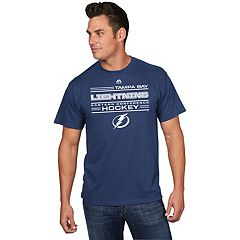 Men's Majestic Tampa Bay Lightning Fore-Check Tee