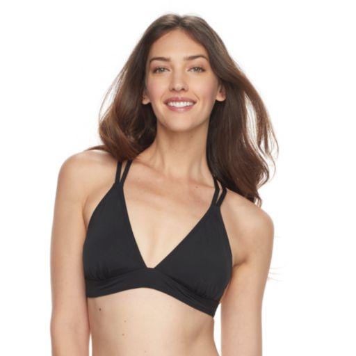 Women's Apt. 9® Solid Triangle Bikini Top