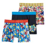 Boys 6-10 Super Mario Bros. 3-Pack Boxer Briefs