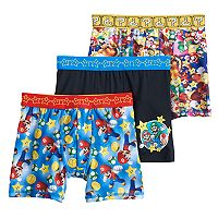 Boys 6-10 Super Mario Bros. 3-Pack Boxer Briefs