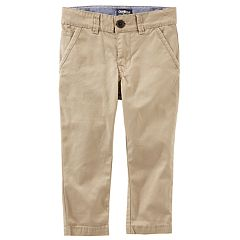 Boys 4-12 OshKosh B'gosh® Chino Khaki Pants