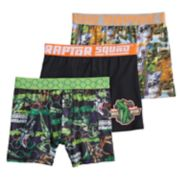 Boys 6-10 Jurassic World 3-Pack Boxer Briefs