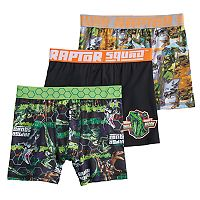 Boys 6-10 Jurassic World 3-Pack Boxer Briefs