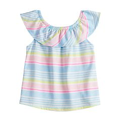 Baby Girl Jumping Beans® Ruffled Tank Top