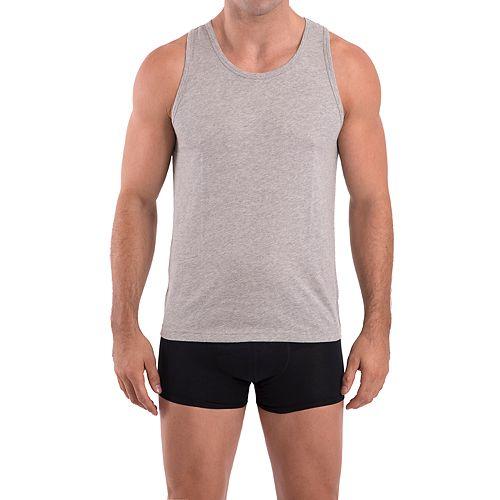 Men's Nick Graham 3-pack Modern-Fit Cotton A-Shirts