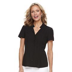 Women's Dana Buchman Trapunto Shirt