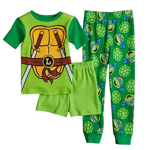 Boys 4-10 Teenage Mutant Ninja Turtles Costume Pajama Set