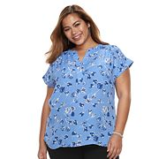Plus Size Apt. 9® Dolman-Sleeve Top