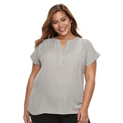 Plus Size Apt. 9® Dolman-Sleeve Top