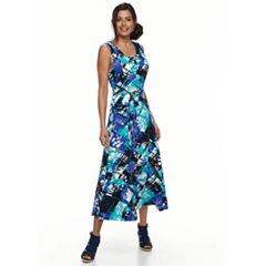 Women's Nina Leonard Splatter A-Line Dress