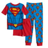 Boys 4-10 Super-Man 3 pc Pajama Set