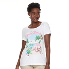Women's Croft & Barrow®Graphic Tee