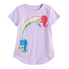 Girls 4-10 Jumping Beans® Shimmer & Shine Rainbow Tee