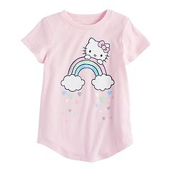 Girls 4-10 Jumping Beans® Hello Kitty® Rainbow Tee