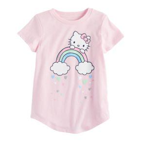 Girls 4-10 Jumping Beans® Hello Kitty® Rainbow Tee