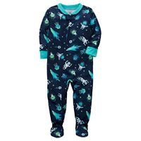 Toddler Boy Carter's Printed Footed Pajamas