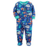 Baby Boy Carter's Printed One-Piece Footed Pajamas