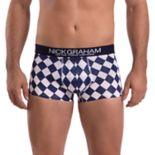 Men's Nick Graham Modern-Fit Stretch Novelty Trunks