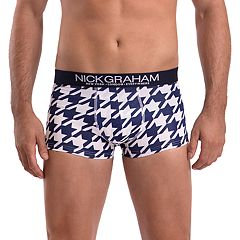 Men's Nick Graham Modern-Fit Stretch Novelty Trunks