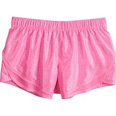 Girls 7-16 SO® Woven Running Shorts