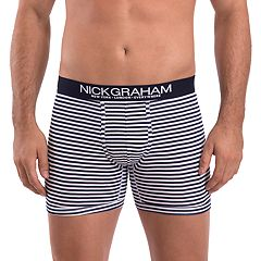 Men's Nick Graham Modern-Fit Stretch Novelty Boxer Briefs