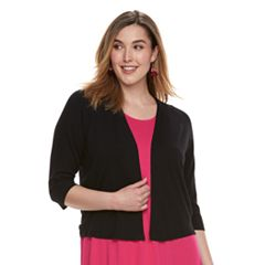 Plus Size Apt. 9® Texture Sleeve Cardigan