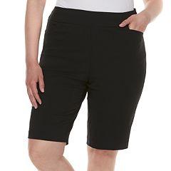 Plus Size Apt. 9® Bermuda Midrise Shorts