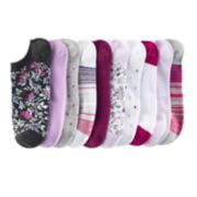 SONOMA Goods for Life? 10-pk. Low-Cut Floral Stripes & Dots Socks