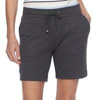 Petite Croft & Barrow® Knit Bermuda Shorts