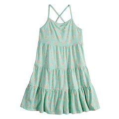 Girls 4-10 Jumping Beans® Tiered Tank Dress