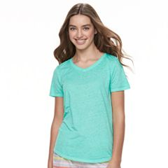 Juniors' SO® Burnout Tee