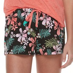 Juniors' SO® Printed Pajama Shorts